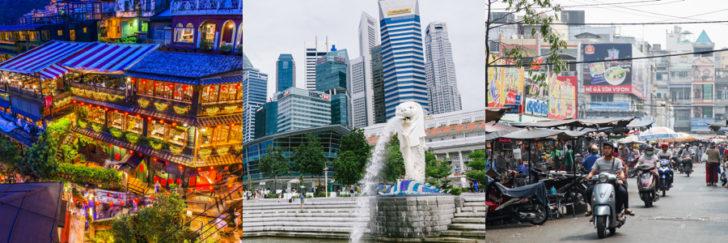 東南アジアは見所満載