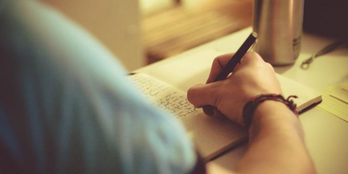 目標を書く