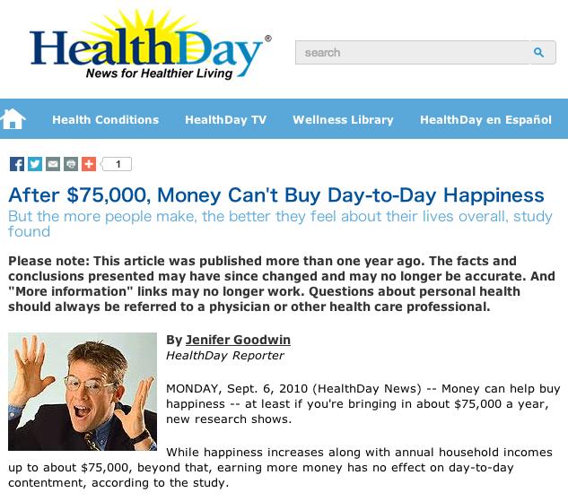 Health Dayのデータ