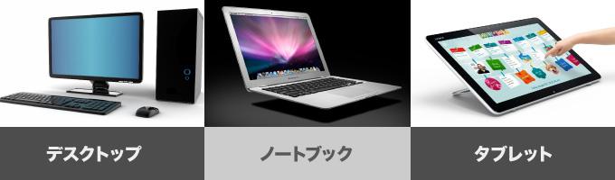 パソコンの型